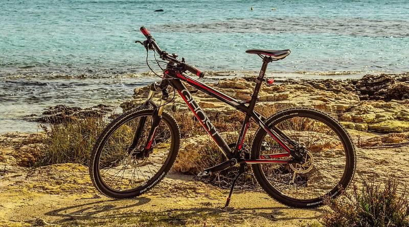 rower na wycieczkę
