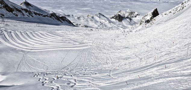 stok narciarski Alpy