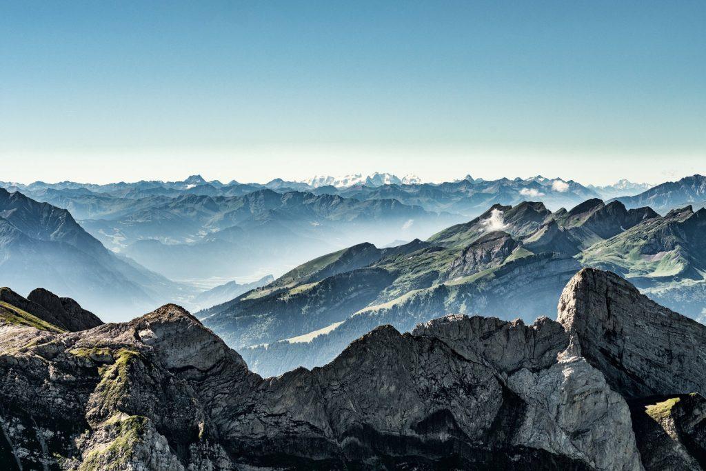 widok Alpy